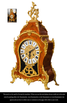 RESTRICTED - Versailles Clock 3 by frozenstocks