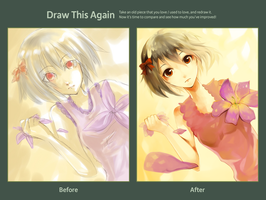 Draw this Again : Girl by berinne