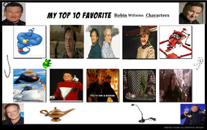 My Favorite Robin Williams Characters by KessieLou