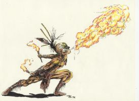 Fire Eater by samurai30