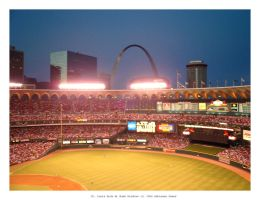 Arch From Bush Stadium by sluffies