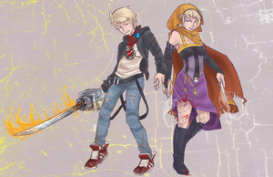 Dave and Rose - Strife by robotRainbows