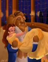 Belle and her Beast by Autumnstar17