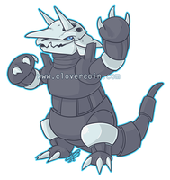 AMM's Aggron by CloverCoin