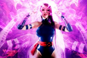 Psylocke Psychic Butterfly by VampBeauty