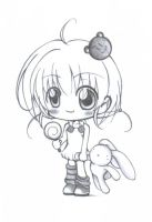 Chibi...wif...lolly n bunny... by CoyLime