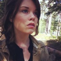 Katniss Everdeen and the Forest by Mirish