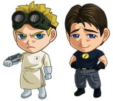 Doctor Horrible Set: complete by cosplayscramble