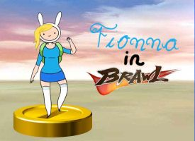 Fionna joins the Brawl by rabbidlover01