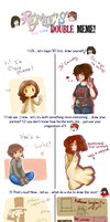 Double Meme with Luck67! by claire-pouette