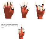 Hand Pose Pack 01 by 3RINFACE