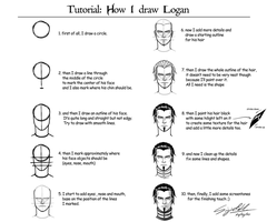 Tutorial: How I draw Logan by Sigisfeld
