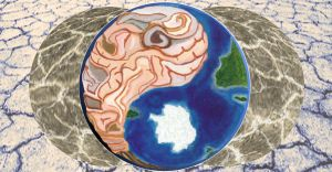Ying Yang earth brain v2 by amyhooton