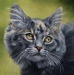Princess - OIL PAINTING by AstridBruning