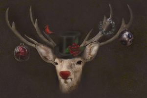 X-mas Red Nose  by oxygun