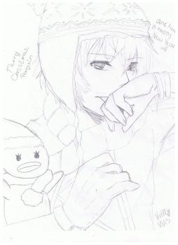 Drew from picture 3 by roselina666