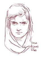 Face Sketch by bensigas