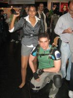 Chris and Sheva by Chris--Redfield