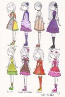 Cupcake Dresses Part 2 by WhotheGhost