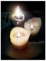 Project 365, Day 209: Candles Lit in Memory by sandyandi146