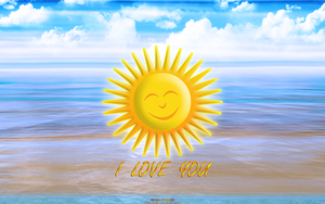 SUN-DAYS: I LOVE YOU...Sol (Smiling Out Loud) by CSuk-1T