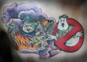 Stay Puft Marshmallow Man by theJorell