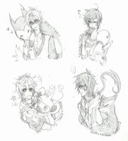 OCs and Pokemon 1 by suga-ovadose