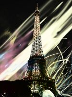La Tour Eiffel by Silvanne
