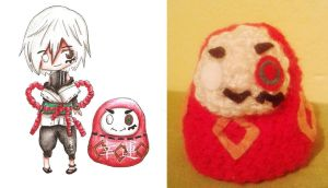 Daruma doll by Stop-wasting-time