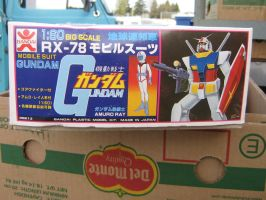 gundam mobile suit model kit 4 by whovianart