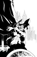 Batman Detective Comics #27 Inks by SWAVE18