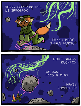 Spacefox Page 18 by Starflier
