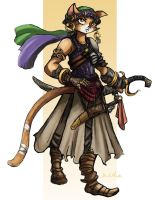 Mayflower - Character Design (Age 18) by TheLivingShadow