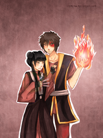 ATLA: Zuko and Mai by cielking