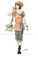 Cute outfit by Dzoan
