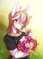 Springtime with Kohi by Edheloth