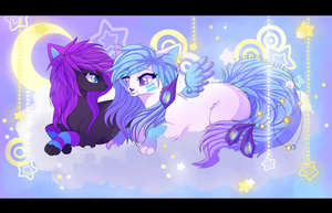 Up In The Clouds With You by Kitsurie