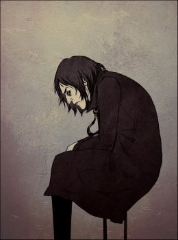 Severus Snape by andrahilde