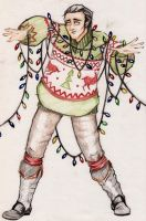 Ugly Christmas Sweater Party 2014 by CMBaggs