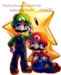 .:. Mario Bros. .:. by StephanieRosario