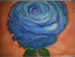 Blue Rose by CelloChess