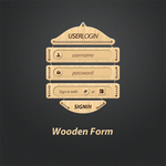 Wooden Webform by alkaleo