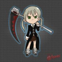 Maka from Soul Eater - Fan Art by Octoyaki