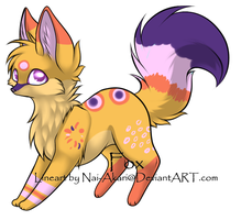 Crazy Fox Adopt CLOSED by FuffAdoptables