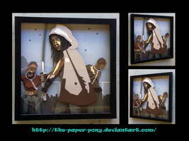 Shadowbox: Michonne by The-Paper-Pony