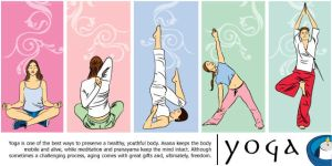 yoga by eyLLaz
