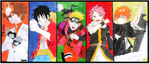 my favorite characters by bem10