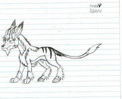 Male Chimera creature concept by Dinoboy134