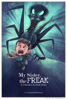 My Sister the Freak Poster 3 by danidraws