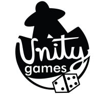 Unity Games Logo (black and white) by starlightv